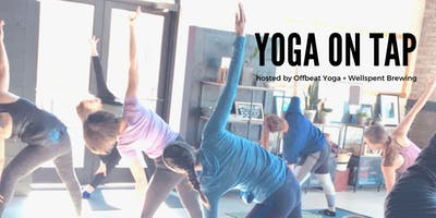 Yoga on Tap at Wellspent Brewing