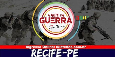 RECIFE-PE| ARTE DA GUERRA BLACK SIGNATURE 360°( Múltipla Escolha) ingressos