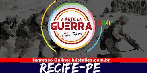 RECIFE-PE| ARTE DA GUERRA BLACK SIGNATURE 360°( Múltipla Escolha)
