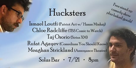 HUCKSTERS - A Free Stand Up Comedy Show on the LES (plus free cookies!)  tickets