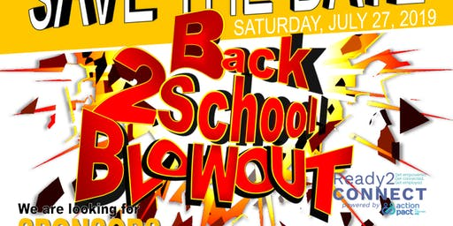 7th Annual Ready2CONNECT Back2School Blowout!