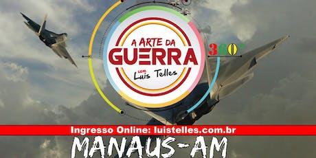 MANAUS-AM | ARTE DA GUERRA BLACK SIGNATURE 360°( TJ-AM -CESPE ) ingressos
