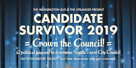 Candidate Survivor 2019 tickets