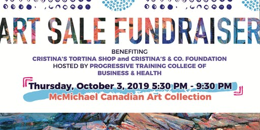 Art Sale Fundraiser Benefiting Cristina's & Co. Foundation