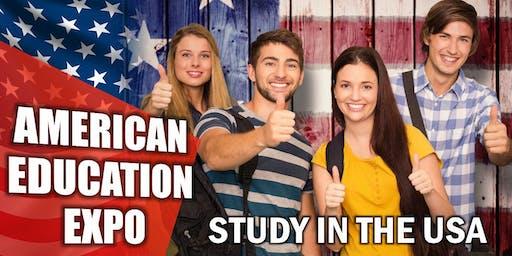 American Education Expo in Bangkok, Thailand