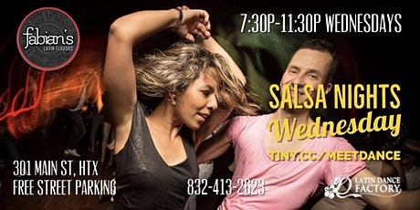 Free Tropical Salsa Wednesday Social @ Fabian's Latin Flavors 12/18 tickets