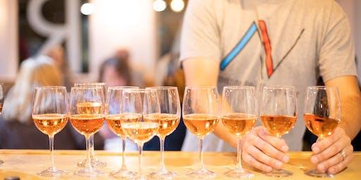 Poolside Wine Tasting