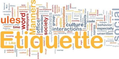 8th Annual Table, Social & Digital Etiquette Workshop tickets