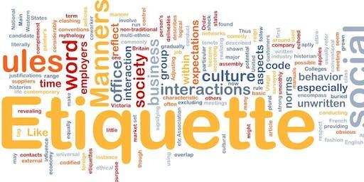 8th Annual Table, Social & Digital Etiquette Workshop