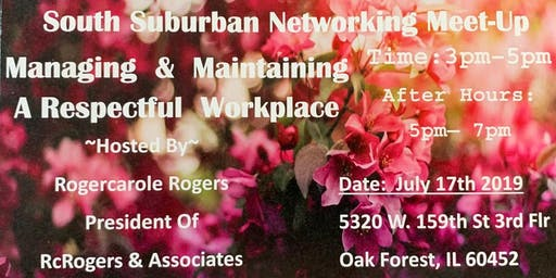 South Suburban Small Business Weekly Networking Meetup