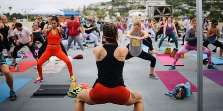 MOVE EAT DRINK: night time HIIT + Yoga + party at Juneshine Ranch! tickets