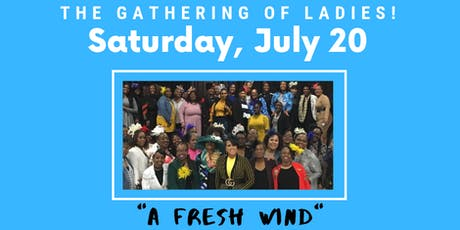 """The Gathering of Ladies - """"A Fresh Wind"""" tickets"""
