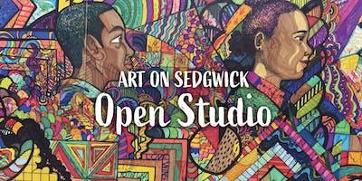 Art on Sedgwick Open Studio - August