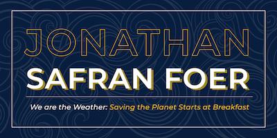 Jonathan Safran Foer Author Talk & Book Signing