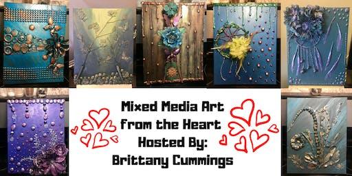 Mixed Media Art from the Heart