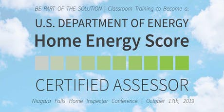 Become a Home Energy Score Certified Assessor - Niagara Falls Conference tickets