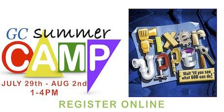 Grace Chapel Summer Camp 2019 tickets