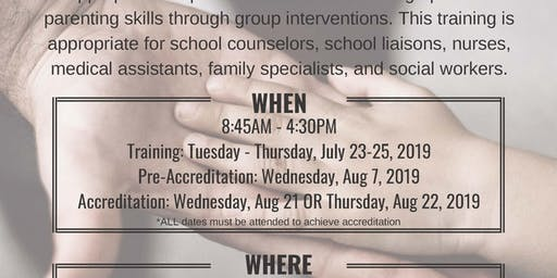 Group Triple P Facilitator Training [July 23-25, 2019]