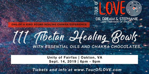 111 Tibetan Healing Bowls, Essential Oils & Chakra Chocolate Experience, Sound Healing, Fairfax, VA