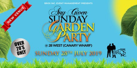 AGS Garden Party - Sunday 28th July 2019 tickets