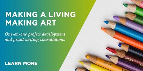 GET FUNDED: Making a Living Making Art- Grant Clinic tickets