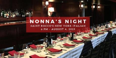 Nonna's Night  tickets
