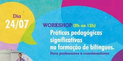 Workshop e Palestra com Rita Ladeia em Recife