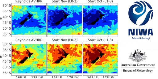 Seasonal Ocean Temperature Forecasting Workshop for Marine Industries