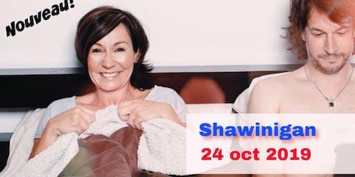 Shawinigan 24 oct 2019 Le couple - Josée Boudreault