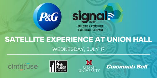 P&G's Satellite Signal Event | StartupCincy's Exclusive Front-Row Access
