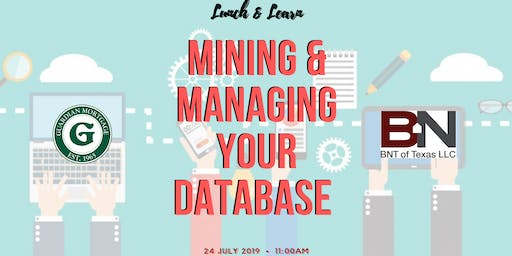 Mining & Managing Your Database