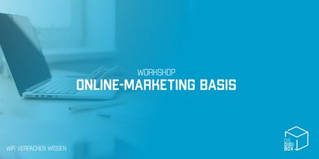 Workshop: Online Marketing Basis Tickets