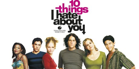 10 Things I hate about you - movie screening tickets