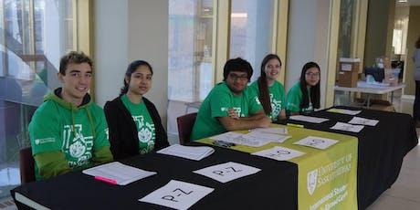 International Student Welcome Volunteer Sign-up tickets