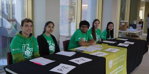 International Student Welcome Volunteer Sign-up
