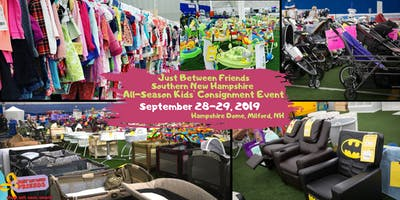 JBFSNH Huge Kids Consignment Sale Fall 2019 - Just Between Friends