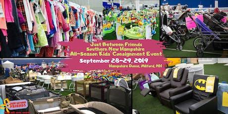 JBFSNH Huge Kids Consignment Sale Fall 2019 - Just Between Friends tickets