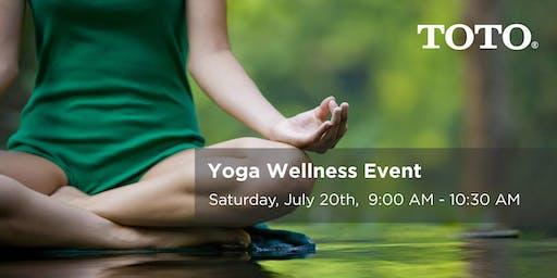 JULY Yoga Wellness Event