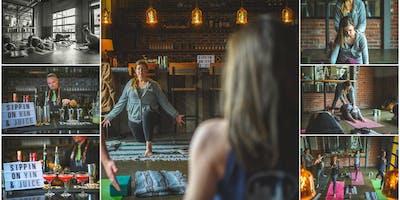 Distillery Yoga - Western Reserve Distillers + Balance & Barrels