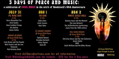 3 Days Of Peace and Music tickets