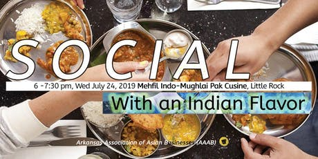 Social with an Indian Flavor - AAAB's Happy-Hour Networking tickets