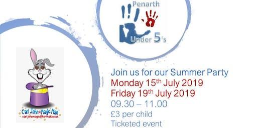 Penarth Under 5's Summer Party (Friday)