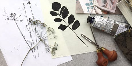 Lino printing for beginners - Evening tickets