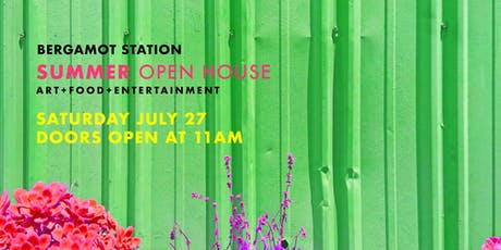 Summer Open House tickets