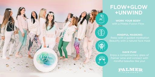 FLOW+GLOW+UNWIND (Pilates Fusion + Mindful Masking + Wine)