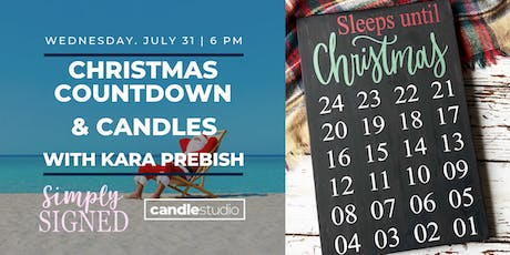 Christmas Countdown and Candles tickets
