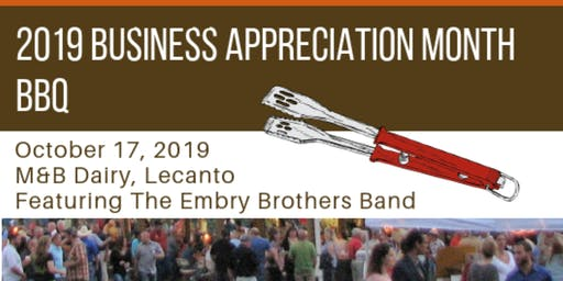 2019 Business Appreciation Month BBQ