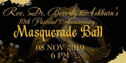 """""""A Night of Elegance in Masquerade"""" Dr. Beverly Ashburn's 10th Anniversary"""
