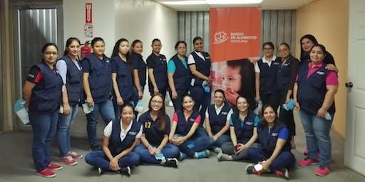 Actividad en Banco de Alimentos de Honduras