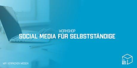 Workshop: Social Media für Selbstständige Tickets
